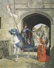 Knight in Shining Armour Armor Male Men Valentines Birthday Card