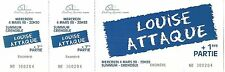 RARE / TICKET BILLET CONCERT LIVE - LOUISE ATTAQUE A GRENOBLE 1998 / COMME NEUF