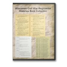 Wisconsin WI Civil War Regiment Genealogy 29 Book Set - B505