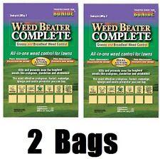 (2) bags Bonide 60476 Weed Beater Grassy & Broadleaf Weed Control Granules