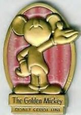 Disney Pin: DCL Disney Cruise Line - The Golden Mickey