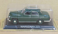 """DIE CAST """" WARSZAWA 223 """" LEGENDARY CARS SCALA 1/43"""