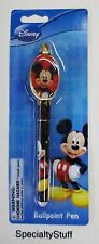 "NEW DISNEY ""MICKEY"" MOUSE BALL POINT PEN 3+ ADULT OR KIDS (PQ)"