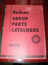 1950 Hudson ORIG! 500 Series Parts Catalog_Pacemaker_Super 6_Commodore_Super 8