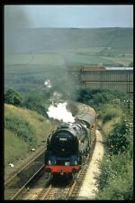 182003 The Cotton Mill At Todmorden Forms The Backdrop For No 70013 A4 Photo Pri