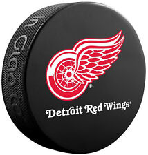 Detroit Red Wings Official NHL Team Logo Souvenir Hockey Puck