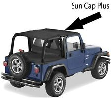 Pavement Ends Sun Cap Plus Protection 03-06 Jeep Wrangler TJ Black Diamond