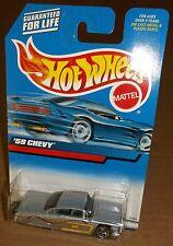 Hot Wheels 2000 Collector #116 '59 1959 Chevy Impala Metallic Silver SBs 27083