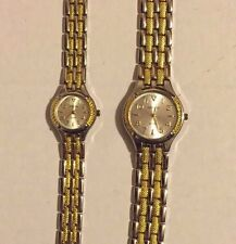 Geneva Quartz His and Hers Watches Never Worn: 2 watches included (NO RESERVE)