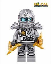 LEGO Ninjago Titanium Zane Minifigure 70748 New
