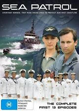 Sea Patrol : Season 1 (Series One)(DVD, 2007, 4-Disc Set Region 4) **VGC**