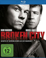 Blu-Ray * BROKEN CITY - MARK WAHLBERG ,  RUSSELL CROWE # NEU OVP §