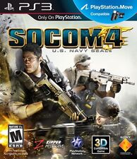 Socom 4: U.S. Navy Seals  - Sony Playstation 3 Game