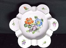 Antique Porcelain Ashtray Flower Hand painted Ferña Glengary Signed Numbered