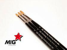 Mig Productions - Abteilung Modelling Filbert Brush size 4  #ABT840-4