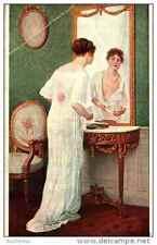 Cpa Peinture - Salon de Paris - Jules Scalbert - Le choix du collier - nu