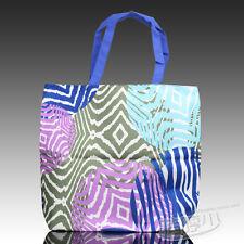Estee Lauder White Blue Canvas Tote Shoulder Bag~NEW