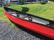 Great price !! OLD TOWN DISCOVERY SPORT 15' CANOE -RED WITH BLACK WOVEN SEATS