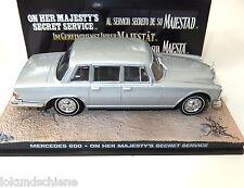 Mercedes Benz 600. 007 James Bond 1:43... #839 en el servicio secreto de su majestad