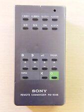 Genuino Vintage Sony mando a distancia TV RM-604B ENVÍO EL MISMO DÍA