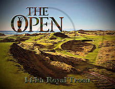 The Open Poster 2016 Royal Troon Golf Course/Golf Poster/145th British Open