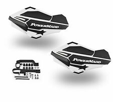 Powermadd Sentinel Handguards Guards Kit White Snowmobile Snow Ski Doo Summit
