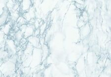 WHITE BLUE GREY MARBLE Self Adhesive VINYL VENEER FILM DC Fix 0121 Contact Paper