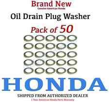 Genuine OEM Honda Oil Drain Plug washer (pack of 50)