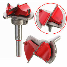 35MM Carbide Tipped Hinge Cutter Boring Drill Wood Hole Bit Reamer + Hex Wrench