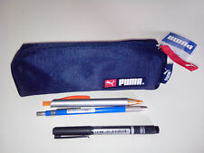 PUMA pencil case dark blue polyester fabric