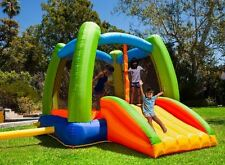Bounce House with Slide for Kids Blower Bounce House Indoor Outdoor Inflatable