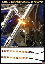 Custom Chopper V Rod EVO Dyna Softtail Road Glide Bagger LED Turn Signal Strips