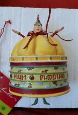RARE Krinkles Patience Brewster Plum Pudding Ornament Dept 56