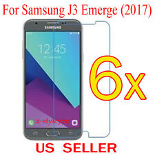 6x Clear Screen Protector Guard Cover Film For Samsung Galaxy J3 Emerge (2017)