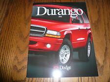 2002 Dodge Durango Sales Brochure