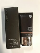 Becca Ever-Matte Shine Proof Foundation in the shade Mahogany- Boxed!