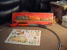 VINTAGE CRAGSTAN B/O TRAIN MADE BY DISTLER. COMPLETE/WORKS W/ALL 60 PIECES & BOX