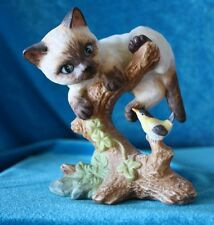 "Danbury Mint Division Of Mbi - Finest Porcelain ""Hello Down There"" Kitty"