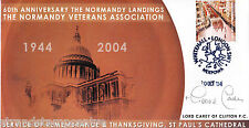 2004 60th Anniversary of the Normandy Landings - Signed by Archbishop CAREY