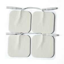 40 Replacement Electrode Tens Units ELECTRODE PADS 2 x 2 Inch White Cloth