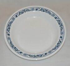 4 New Corelle Old Town Blue Flat Rimmed  Soup Salad Bowl 15oz