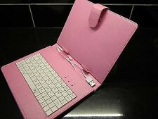 "PINK USB Keyboard Custodia / supporto per Acer Iconia A1-810 7,9 ""Tablet Android"