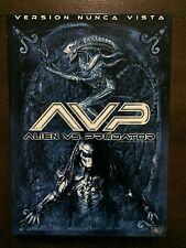 ALIEN VS PREDATOR AVP - VERSION NUNCA VISTA - 1 DVD - PELI DE CULTO - 104 MIN