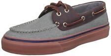 Sperry Top-Sider Mens Bahama 2-Eye Heavy Canvas Leather Boat Deck Shoes SIZE 6