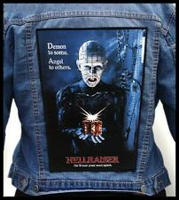 HELLRAISER --- Giant Backpatch Back Patch / Horror Movie Clive Barker Gore