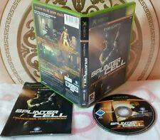 TOM CLANCY'S SPLINTER CELL PANDORA TOMORROW Xbox X-Box X Box Gioco Microsoft
