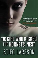 The Girl Who Kicked the Hornets' Nest, Stieg Larsson, New