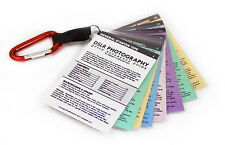 for CANON DSLR CHEAT SHEET CARDS All Bodies T6i T5i T5 T4i T3i M3 70D 60D 7D SL1