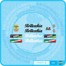 Bottecchia Bicycle Decals Transfers - Stickers - Set 2
