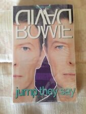David Bowie Jump They Say Cassette Single (1993) NY Knicks & WPLJ 95.5 Sealed